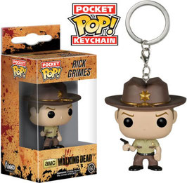 LLAVERO POCKET POP! THE WALKING DEAD (RICK GRIMES)