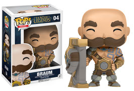 FIGURA POP! LEAGUE OF LEGENDS (BRAUM)