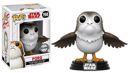 FIGURA POP! STAR WARS EPISODE VIII (PORG EXCLUSIVE) nº198