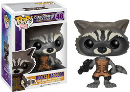 FIGURA POP! GUARDIANS OF THE GALAXY (ROCKET RACCOON) nº48