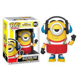 FIGURA POP! MINIONS THE RISE OF GRU ( ROLLER SKATING STUART) Nº902