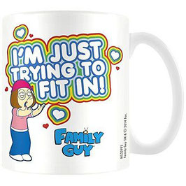TAZA FAMILY GUY/PADRE DE FAMILIA - I'M JUST TRYING TO FIT IN!