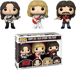 PACK 3 FIGURAS FUNKO POP! RUSH (GEDDY/ALEX/NEIL)