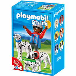 PLAYMOBIL FIGURA + PERRO 5212