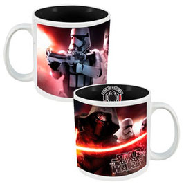 TAZA STAR WARS THE FORCE AWEEKENS (BLANCA CON LOGO DENTRO)