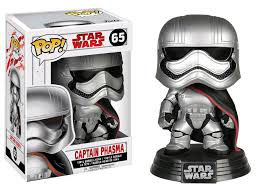 FIGURA POP! STAR WARS EPISODE VIII (CAPTAIN PHASMA) nº65