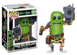 FIGURA POP! RICK Y MORTY (PICKLE RICK WITH LASER) nº332