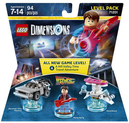 LEGO DIMENSIONS 71201 REGRESO AL FUTURO (LEVEL PACK)