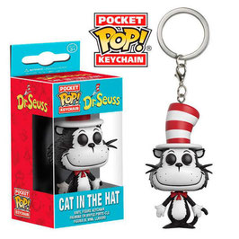 LLAVERO POCKET POP! DR. SEUSS (CAT IN THE HAT)