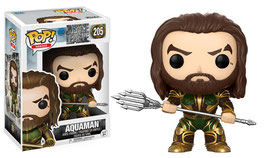 FIGURA POP! JUSTICE LEAGUE (AQUAMAN ARMORED) Nº205