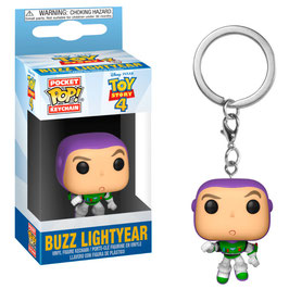 LLAVERO POCKET POP! TOY STORY 4 (BUZZ LIGHTYEAR)