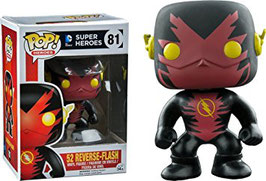 FIGURA POP! DC COMICS (NEW 52 REVERSE FLASH) nº81
