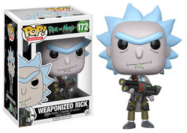 FIGURA POP! RICK Y MORTY (WEAPONIZED RICK) nº172