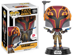 FIGURA POP! STAR WARS REBELS (SABINE MASKED)