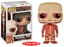 FIGURA POP! ATTACK ON TITAN (COLOSSAL TITAN) nº23