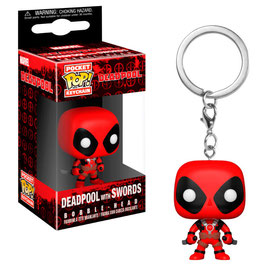 LLAVERO POCKET POP! DEADPOOL (DEADPOOL WITH SWORDS)