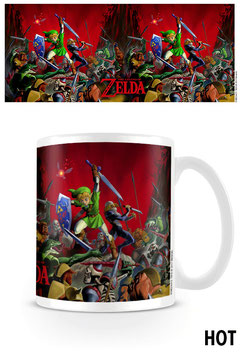 TAZA LEGEND OF ZELDA SENSITIVA AL CALOR BATTLE