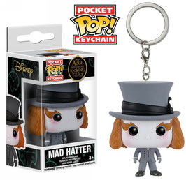 LLAVERO POCKET POP! ALICIA A TRAVÉS DEL ESPEJO (MAD HATTER)
