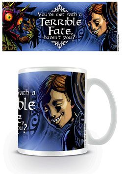 LEGEND OF ZELDA MAJORAS MASK TAZA TERRIBLE FATE