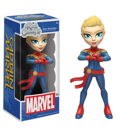 FIGURA FUNKO ROCK CANDY - CAPTAIN MARVEL