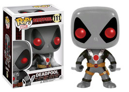 FIGURA POP! DEADPOOL (2 SWORDS X-FORCE CUSTOM) GRIS