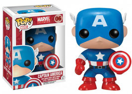 FIGURA POP! CAPITAN AMERICA (MARVEL) Nº06