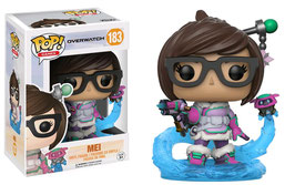 FIGURA POP! OVERWATCH (MEI SNOWBALL COLOUR LIMITED)