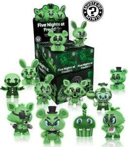 Mystery minis Five Nights at Freddy's (Glow in the dark)