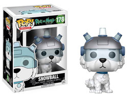 FIGURA POP! RICK Y MORTY (SNOWBALL)