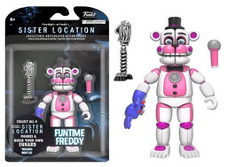 FIGURA ARTICULADA FIVE NIGHTS AT FREDDY'S SISTER LOCATION (FUNTIME FREDDY)