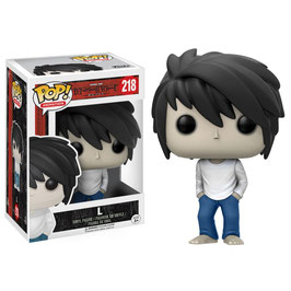 FIGURA POP! DEATH NOTE (L) nº218