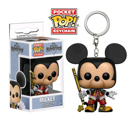 LLAVERO POCKET POP! KINGDOM HEARTS (MICKEY)