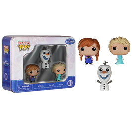 POCKET POP! DISNEY FROZEN (PACK 3)