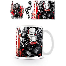 TAZA SUICIDE SQUAD - DEADSHOT ARMED
