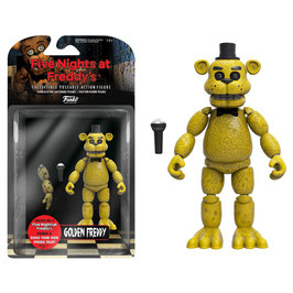 FIGURA ARTICULADA FIVE NIGHTS AT FREDDY'S (GOLDEN FREDDY)
