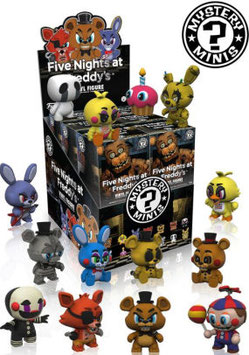 Mystery minis Five Nights at Freddy's