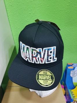 GORRA MARVEL BÉISBOL COLLAGE LOGO