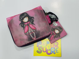 MONEDERO SANTORO GORJUSS LADY BIRD (ROSA/FUCSIA)