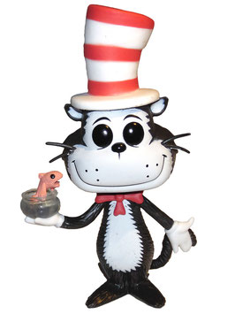 FIGURA POP! DR. SEUSS (CAT IN THE HAT WITH GOLDFISH nº09