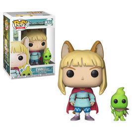 FIGURA POP! NI NO KUNI II REVENANT KINGDOM (EVAN & HIGGLEDY) nº328