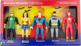 FIGURAS JUSTICE LEAGUE DC COMICS Bendable/Poseable - PACK DE 5