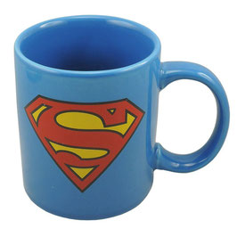 TAZA SUPERMAN LOGO - AZUL
