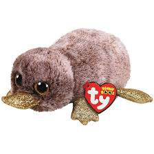 PELUCHE TY ORNITORRINCO (PERRY)