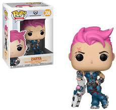 FIGURA POP! OVERWATCH (ZARYA)
