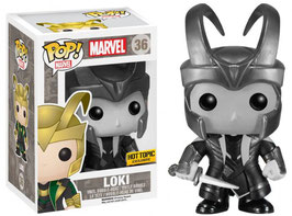 FIGURA POP! MARVEL (LOKI) BLACK & WHITE