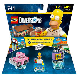 LEGO DIMENSIONS 71202 THE SIMPSON (LEVEL PACK)