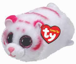 PELUCHE TEENY TY TIGRE BLANCO (TABOR)