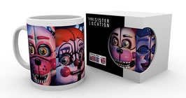 TAZA FIVE NIGHTS AT PREDDY'S (SISTER LOCATION FACES)
