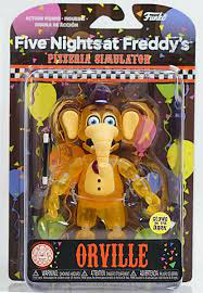 FIGURA ARTICULADA FIVE NIGHTS AT FREDDY'S (ORVILLE) GITD