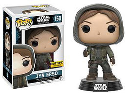 FIGURA POP! STAR WARS ROGUE ONE (JYN ERSO HOODED) nº150